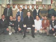 Grandmaster with group in Egypt