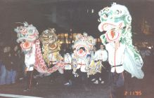 Parade with Lion Dancing 1995
